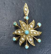 9 Carat Turquoise Art Nouveau (1895-1910) Fine Jewellery