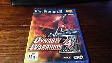 Dynasty Warriors 4 (Sony Playstation 2, PS2) Hack Slash Action Adventure Koei
