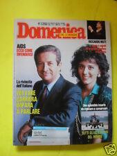 DOMENICA DEL CORRIERE ANNO 88 N. 51 20 DICEMBRE 1986