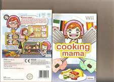 COOKING MAMA NINTENDO WII FAMILY COOK EM UP
