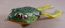 Bass Fishing Lure / Soft Plastic, KinFish 3/4 oz. Hollow Body Frog 2 5/8 inch