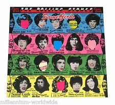 """SEALED & MINT- THE ROLLING STONES - SOME GIRLS - 12"""" VINL LP RECORD, 180 GRAM"""