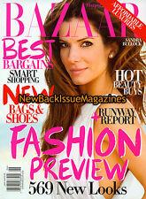 Bazaar 6/09,Sandra Bullock,June 2009,NEW