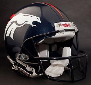 JOHN ELWAY Edition DENVER BRONCOS NFL Riddell AUTHENTIC Football Helmet