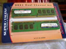 RAM DDR2 800MHz 4GB (2x2GB ) PC6400 240pin HYNIX HYMP125U64CP8-S6 AB-C EXTREME