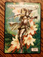 Magic the Gathering MTG altered art Thalia, Guardian of Thraben