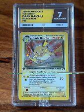 Pokemon 1st Ed Dark Raichu Holo - ACE 7 NM - COLOUR