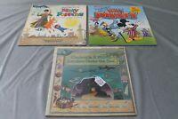 """3 Movie soundtracks 12"""" vinyl LP's with sleeves"""