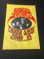 The Yardbirds 2 Sided Poster Konst Sweden One Sunday Afternoon
