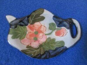 Porcelain Teabag Holder Tea Spoon