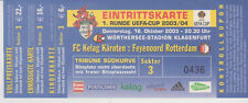 Sammler Used Ticket / Entrada FC Kelag Karnten - Feyenoord 16-10-2003 UEFA
