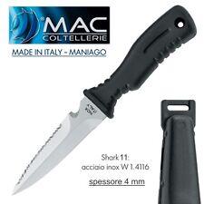 knife Coltello SUB Shark 11 MAC Coltellerie MADE IN ITALY Maniago INOSSIDABILE