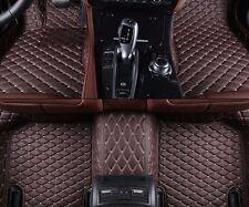 6 Colors Leather Car Floor Mats for Honda Accord 4 doors 2013-2017 Carpets Liner