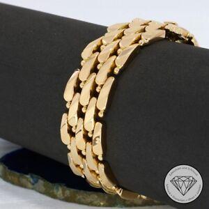 Wert 4.800,- Hinreißendes Vintage Armband 750 / 18 Karat Rosé Gold 18,0 cm xxyy