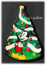 Vintage RARE Disney Mickey's Tree Limited Edition Ornament By Radko Card 1995