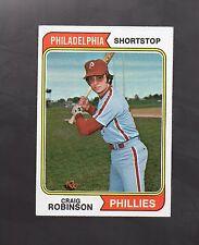 1974 TOPPS CRAIG ROBINSON #23 PHILADELPHIA PHILLIES