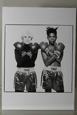 ANDY WARHOL and JEAN-MICHEL BASQUIAT  Art-Postcard  NEW