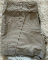 Hurley Board Shorts Size 12 Women's Embroidered Patched Checks Hi-rise EUC