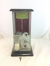 "1923 Norris ""The Master"" 1 One Cent Gumball Peanut Vending Machine"