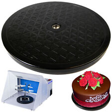 """New 7.5"""" Turntable Cake Decorating Stand Swivel Rotating Display Icing Airbrush"""