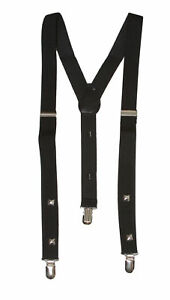 3 Clip Stretchable Suspenders