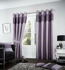 Fuel Ready Made Eyelet Top Fully Lined Curtains / Cushion Covers / Door Panels