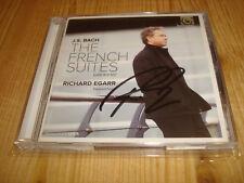 Signed Signiert RICHARD EGARR Harpsichord Bach French Suites HARMONIA MUNDI 2 CD
