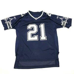 VINTAGE Reebok Julius Jones Dallas Cowboys Football Jersey Men's Size Small Blue