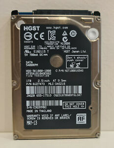 "1TB HGST SATA 2.5"" Laptop Hard Drive (Apple Mac)"