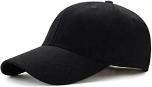 Baseball Cap Polo Style Classic Sports Casual Plain Sun Hat Unisex Mens Women
