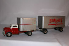 1950's Large Pressed Steel Pequeno Gigante Food Service Truck,  Original