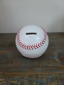 Baseball Sports Themed Ceramic Kids Piggy Bank Bedroom Décor Coin Bank Hobby Lob