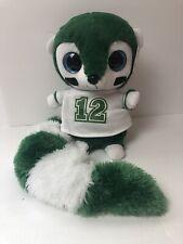 Ideal Toys Direct Plush Lemur Stuffed Animal Football Style Green White Jersey