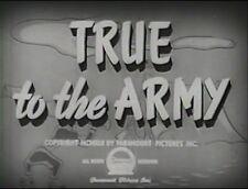 TRUE TO THE ARMY 1942 (DVD) JUDY CANOVA, ALLAN JONES