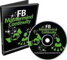 Create Recurring Income With Facebook Groups- Videos on 1 CD