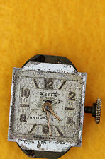 NON WORKING Ladies Vtg Astin Antimagnetic 17 Jewels Swiss Made Watch Movement