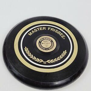 Vtg BLACK 1973 Wham-O Frisbee Master Tournament Model 170G Flying Disc
