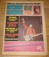 December Record Mirror Music, Dance & Theatre Magazines
