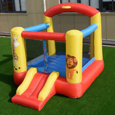 Kids Inflatable Blow Up Animal Jump Bounce House Bouncy Air Castle Playpen Slide