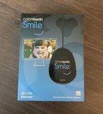 X-Rite Pantone Color Munki Smile Monitor Calibrator Photo Editing Complete!