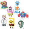 LNO Baukästen Spielzeug Kinder Figur Geschenk SpongeBob Serie Blocksteine Figur