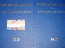 BRD GERMANY 2010 Jahrgang Postwertzeichen Complete Year Set incl. S/S MNH Folder