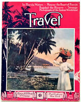 TRAVEL Magazine Jan. 1916, West Indes, Moscow, Palm Beach, Persia, Bagdad & More