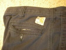 Carhartt fr Navy Blue Pants (371-20) Relaxed Fit 32X30
