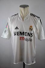 Real madrid camiseta talla M 2004-2005 Home adidas Jersey españa Siemens