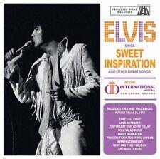 ELVIS PRESLEY - ELVIS SINGS SWEET INSPIRATION -  Paradise Road Records