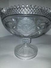Lead Crystal pedestal bowl