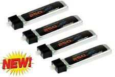 PowerHobby 1S 3.7V 250Mah 45C Lipo Battery (4) E-Flite Micro Planes
