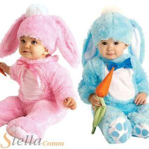 Toddler Boys Girls Cute Easter Bunny Rabbit Fancy Dress Costumes 0-18 Months