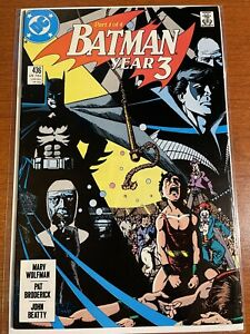 BATMAN #436 (1989) DC COMICS 1ST APPEARANCE OF TIM DRAKE (ROBIN) PEREZ COVER